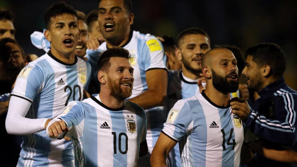 Argentina Road to Russia World cup 2018 – Fifa Qualifier Matches Result
