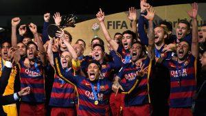 Barcelona winners of the Fifa club world cup 2015