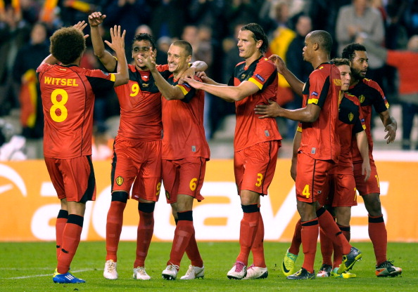 Belgium Football Team players