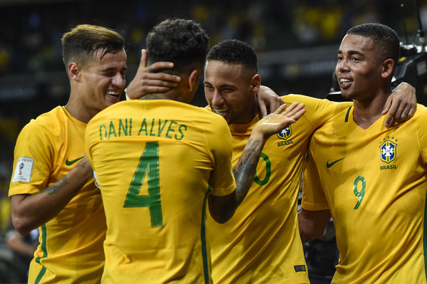 Brazil Players in Fifa world cup Qualification Matches