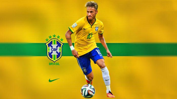 Brazil Team HD wallpaper of Neymar
