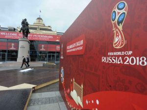 Fifa Football World cup 2018 at Russia