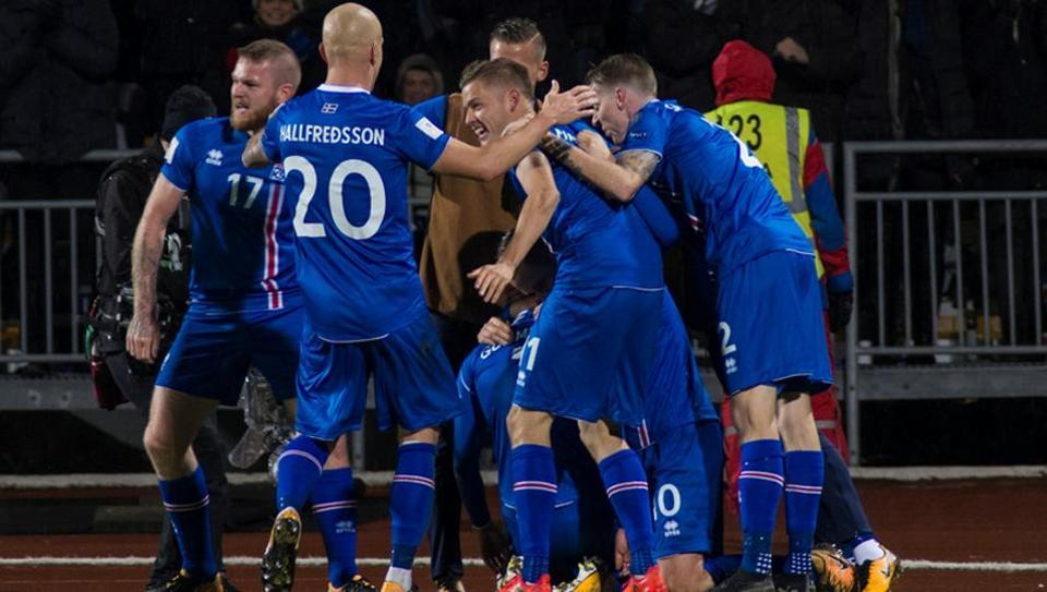 Iceland Qualify for the Russia world cup 2018