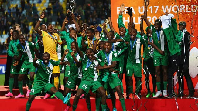 Nigeria Winners of 2015 Fifa U-17 World cup