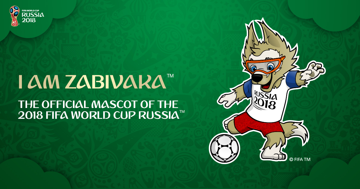 official 2018 fifa world cup mascot
