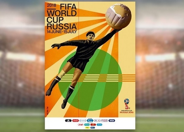 FIFA World Cup 2018 russia Official poster
