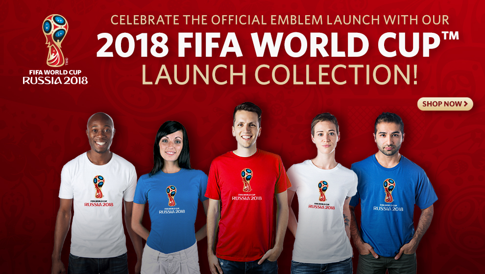 2018 Fifa world cup Store opens in Moscow Buy T-shirt, Balls online