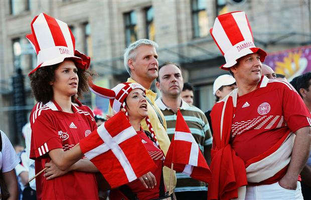 Denmark Football Fans HD photos