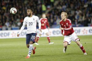 Denmark vs France Football Match