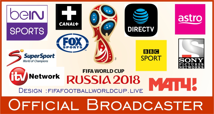World Cup 2018 On Tv