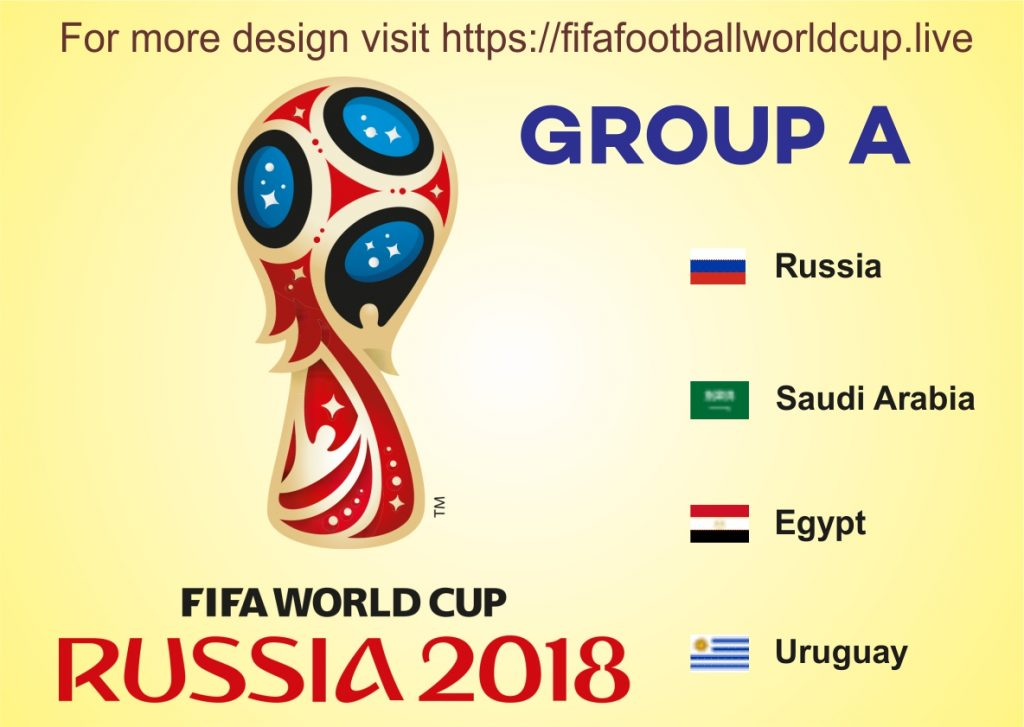 Fifa world cup 2018 Group A Teams, Their Schedule, Prediction