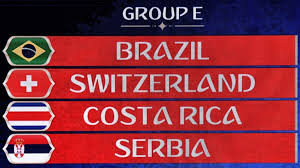 Fifa world cup Group E