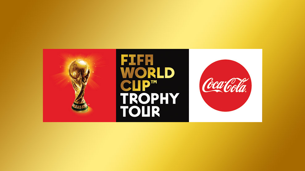 Trophy of Fifa world cup 2018 arrive in Pakistan on 3 February