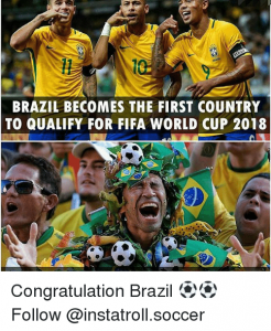 Funny meme image for fifa world cup 2018 russia