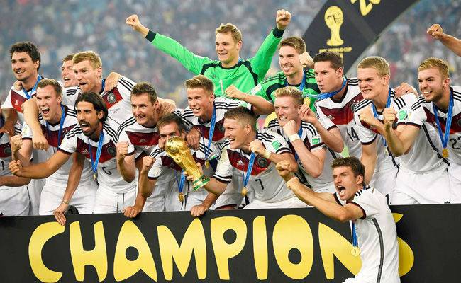 Germany Won the 2014 Fifa world cup
