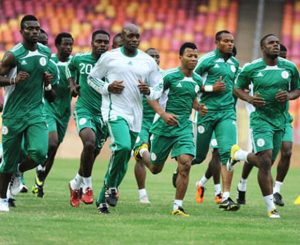 Nigeria players ready for the world cup 2018