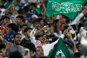 Saudi Arabia Fans ready to cheer their countries in fifa world cup 2018