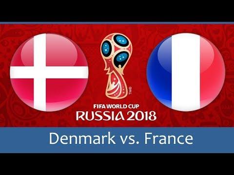 world cup 2018 Denmark vs France Fixtures