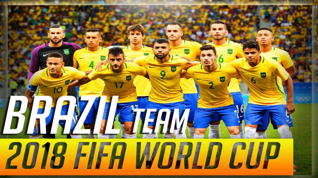 Brazil 2018 world cup team squad