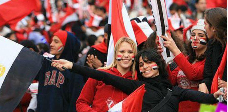 Egypt team football fans