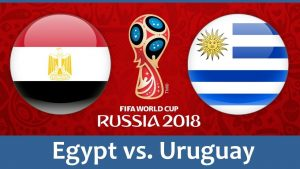 Egypt vs Uruguay World cup Highlights-Video 15 June 2018