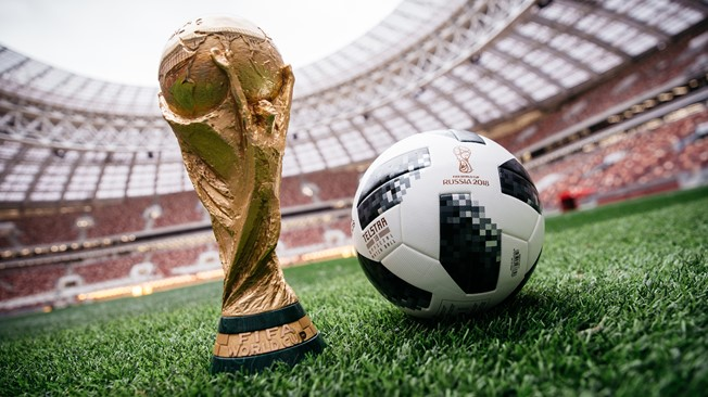 Match Ball of Fifa Football World cup 2018 from Pakistan