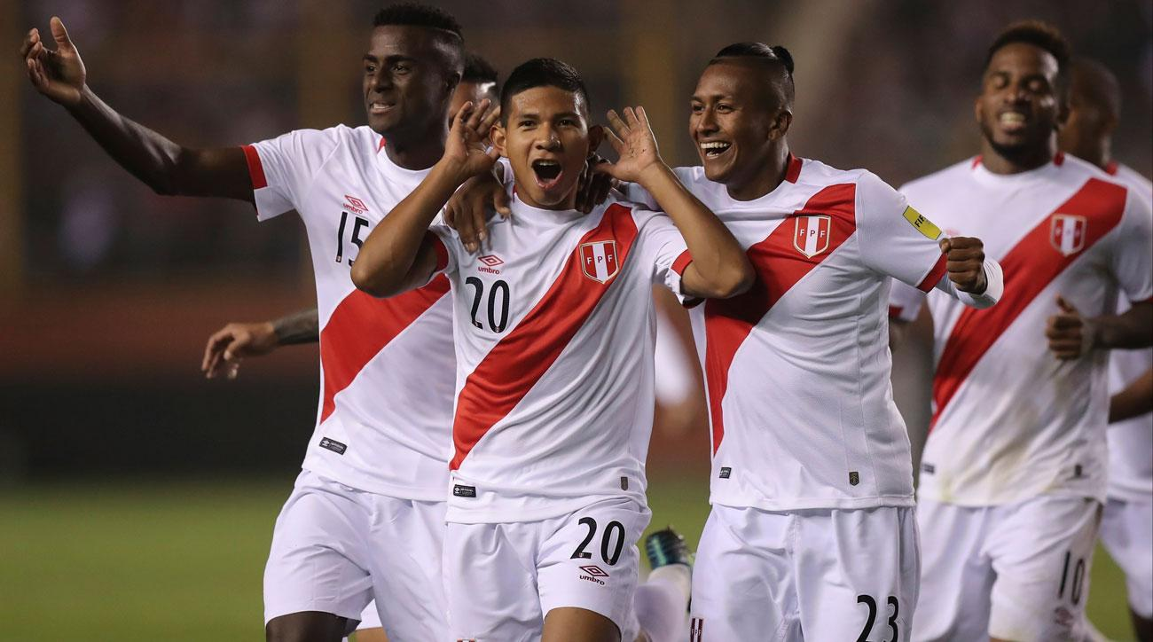 Peru football players