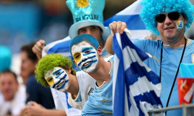 Uruguay Football Team fans