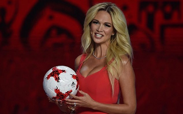 Victoria Lopyreva world cup 2018 Model and Ambassor