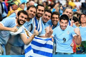 uruguay fans ready to cheer their nation in fifa world cup