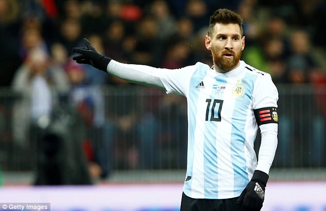 Argentina playerLionel Messi HD pictures in football friendly game