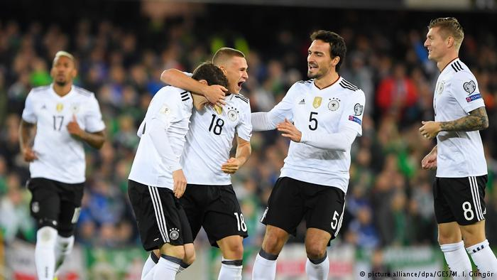 Germany players ready for friendly battle against spain of 23 March