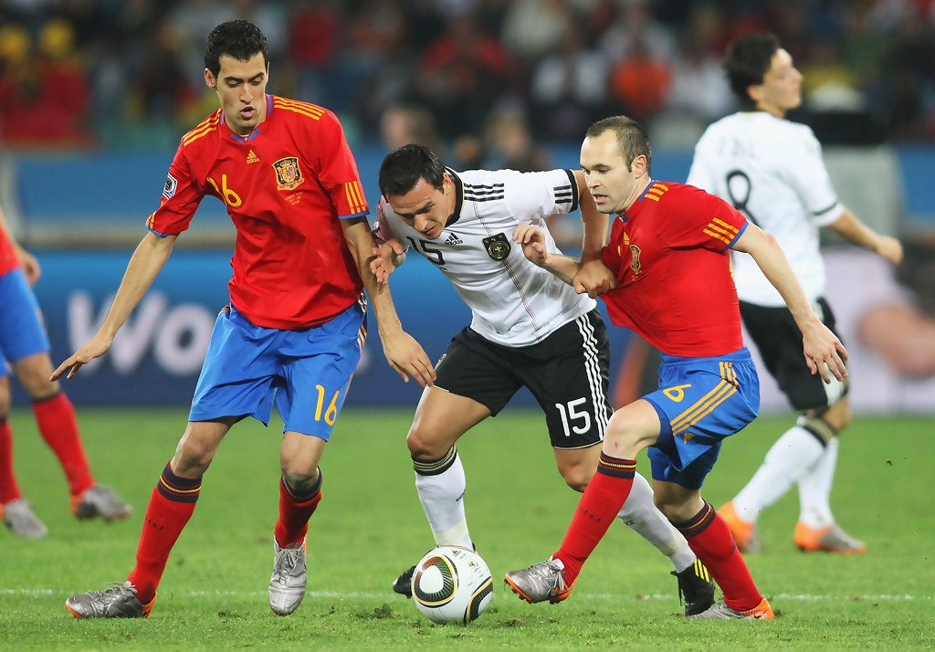 Germany vs Spain football match