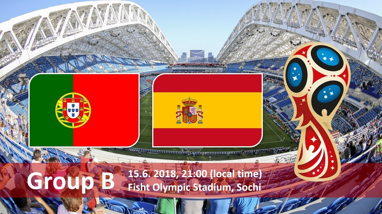 Group B Clash of Portugal vs Spain on 15 June 2018 HD image