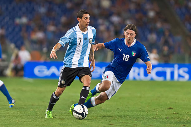 Italy vs Argentina football match