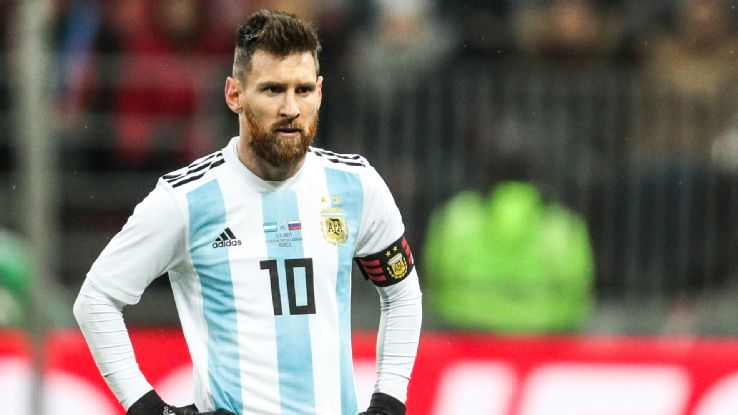Lionel Messi in 2018