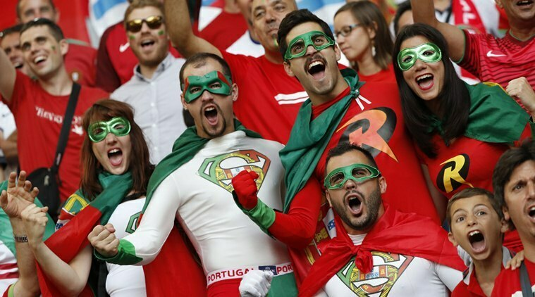 Portugal fans ready to cheer their nation in soccer world cup 2018