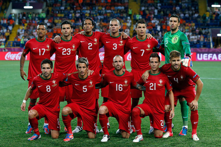 Portugal players ready for the world cup battle