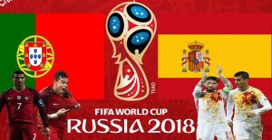 Portugal vs Spain World cup 2018 HD wallpaper, photos Group B Clash