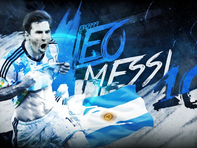 colorful messi pictures in hd