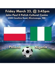 Poland vs Nigeria Friendly Kick off Time, When Match starts on worldwide