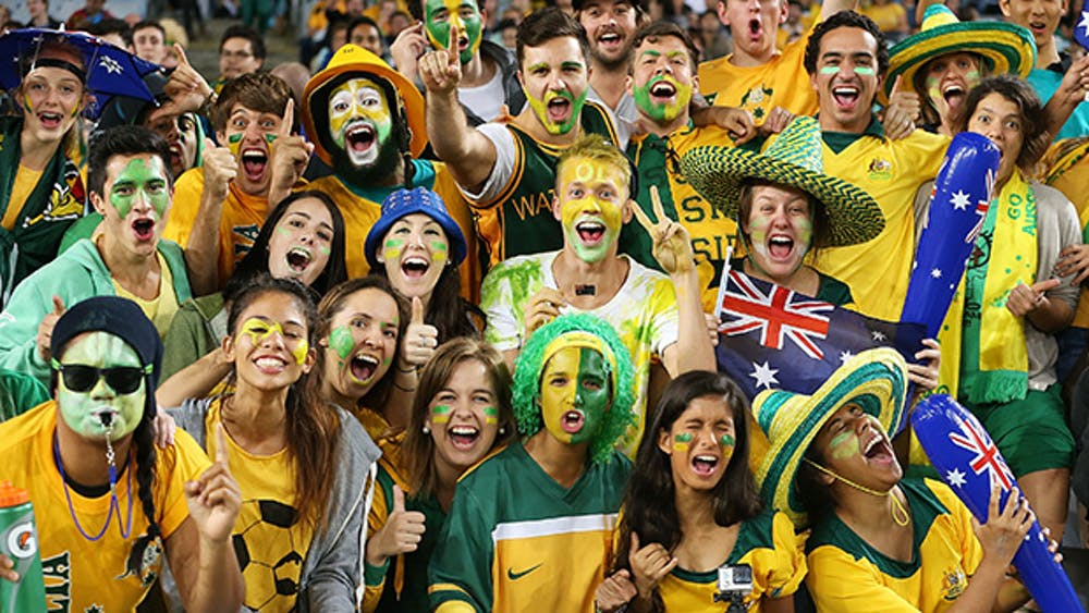 Australia fans ready to cheer their nation in fifa world cup