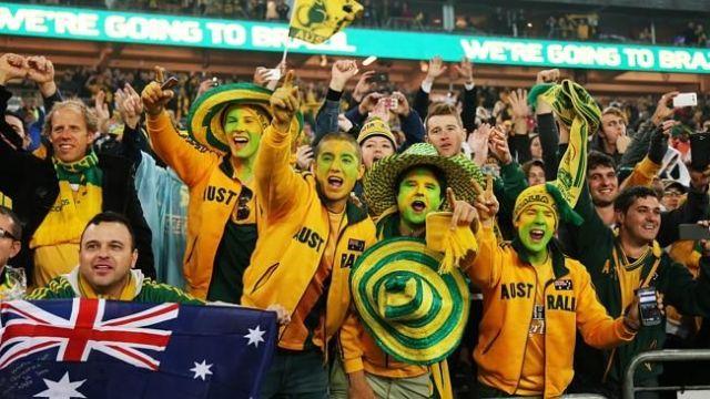 Australia football team fans