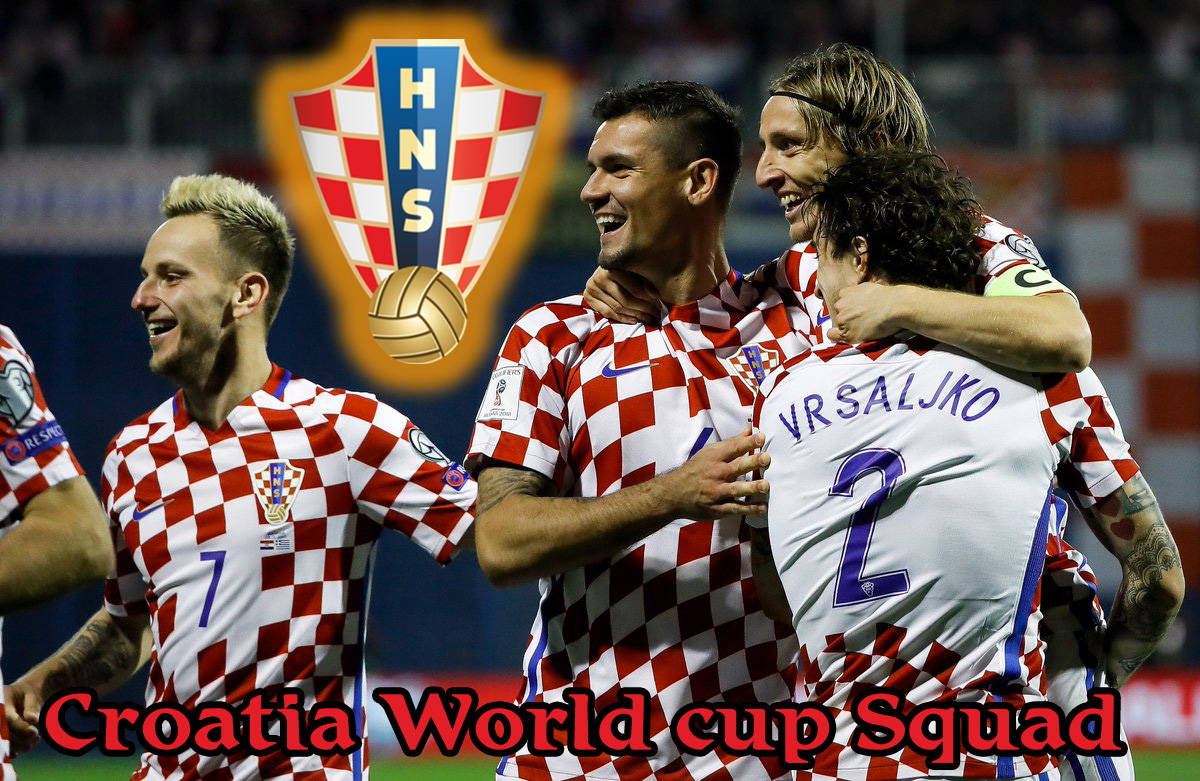 Croatia football world cup squad