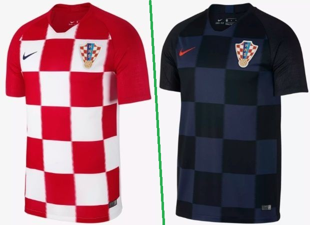 Croatia home and away kits - jersey for world cup 2018
