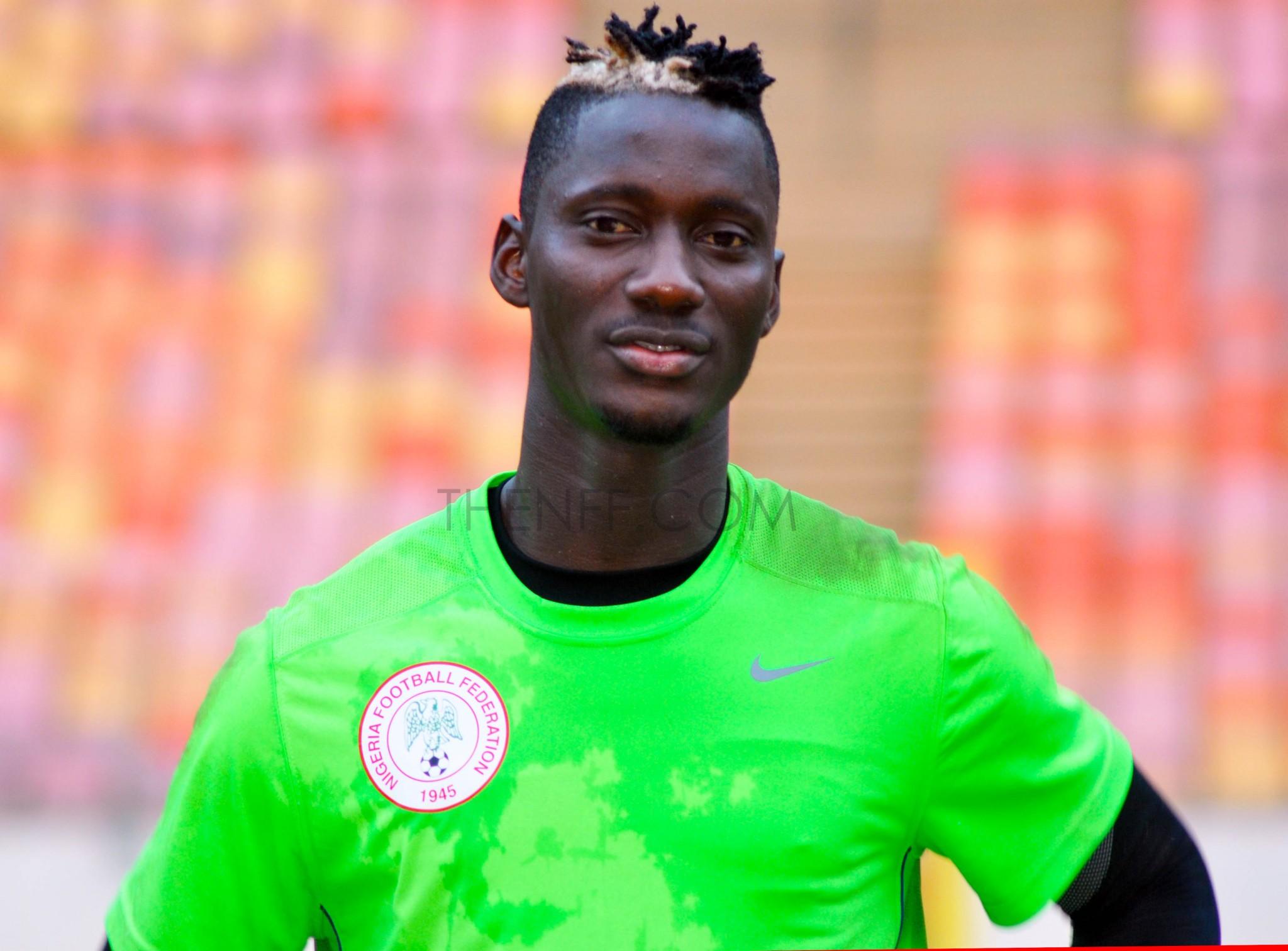 Dele Alampasu nigeria goal keeper