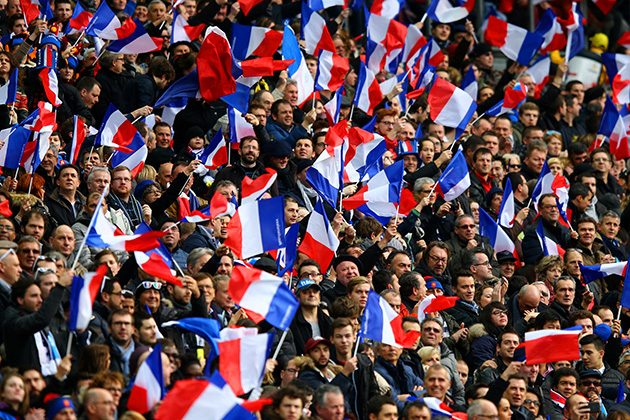 France fans ready to cheer their nation in Fifa world cup 2018