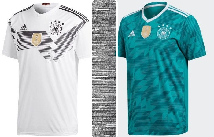 Germany home and away kits - jersey for world cup 2018