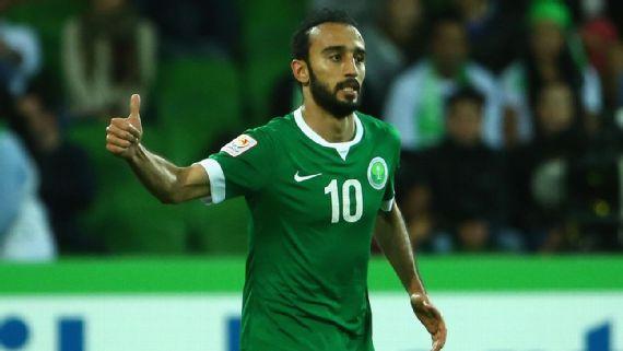 Mohammad Al-Sahlawi Saudi Arabia soccer player