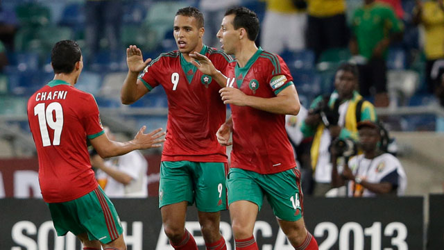 Morocco players ready for the World cup battle